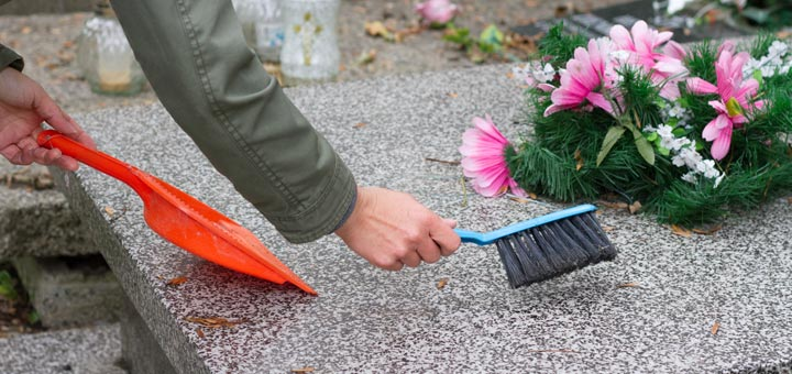 pompes funèbres entretien